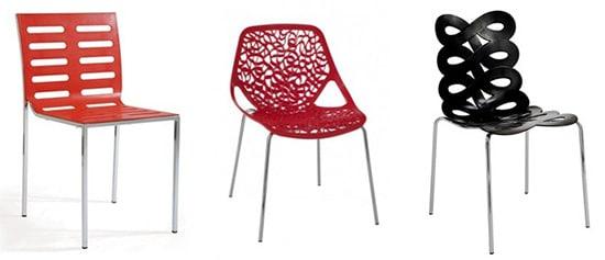 Moderné kuchynské stoličky