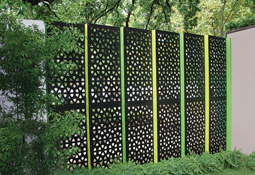Moderna zahradna zastena