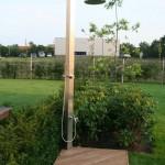 Nerezova zahradna sprcha