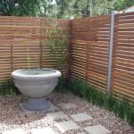 Zahradna zastena - drevena