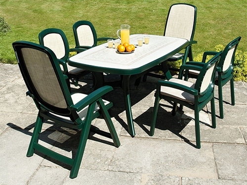 2ed45fb7127e Zeleny plastovy zahradny nabytok