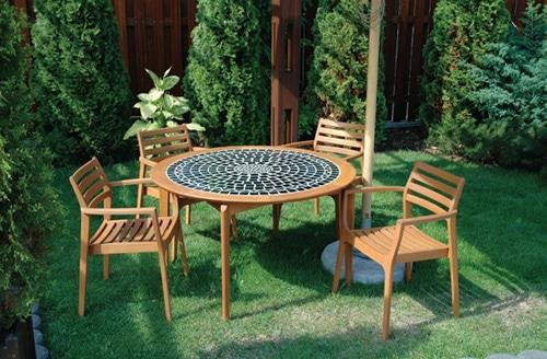 Moderný záhradný nábytok z Poľska