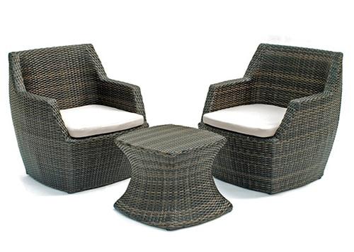 Moderný ratanový nábytok