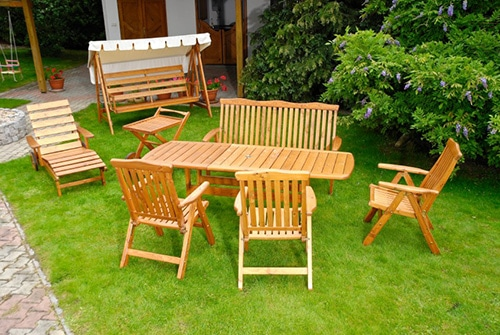Poľský záhradný nábytok