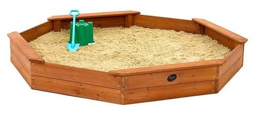 Drevené pieskovisko pre deti