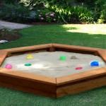 Detské pieskovisko na záhrade