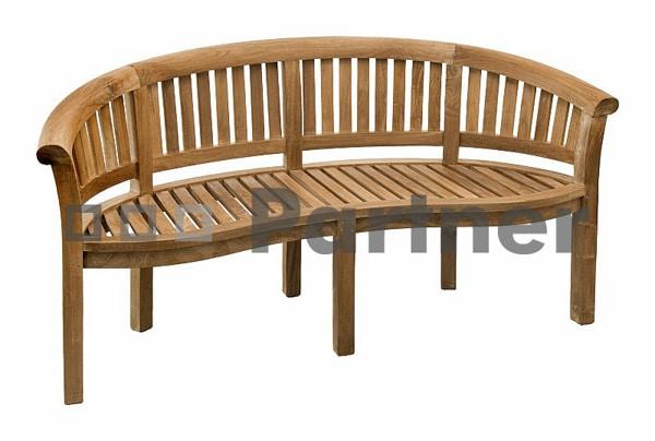 Záhradná lavička z akáciového dreva