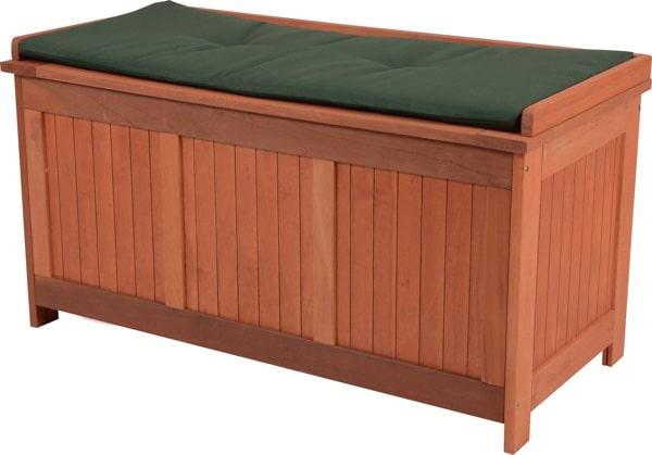Záhradná lavička bez operadla